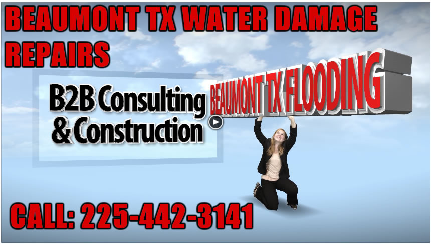 Beaumont TX Water Damage Repair