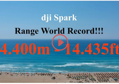DJI Spark Range World Record