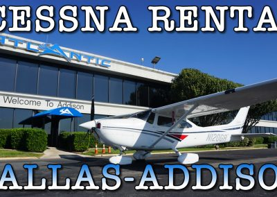 Cessna For Rent Dallas TX