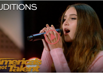 "Makayla Phillips: 15-Year-Old Receives Golden Buzzer For ""Warrior"" – America's Got Talent 2018"