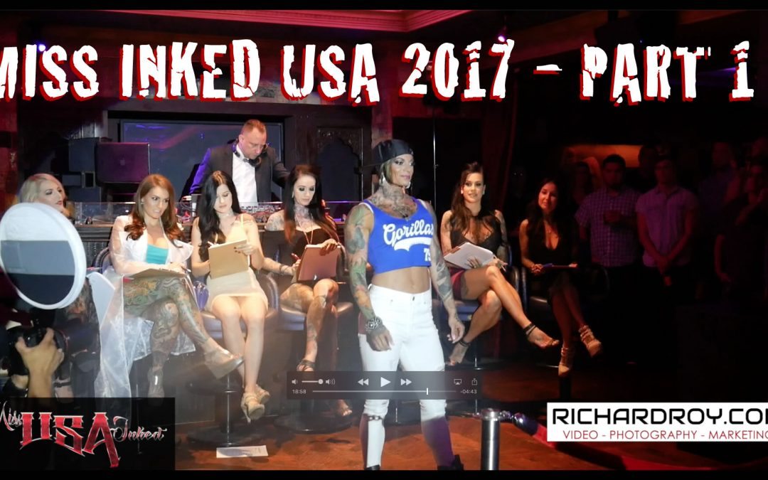 Miss Inked USA 2017 Pageant Part 1 | Inked Models