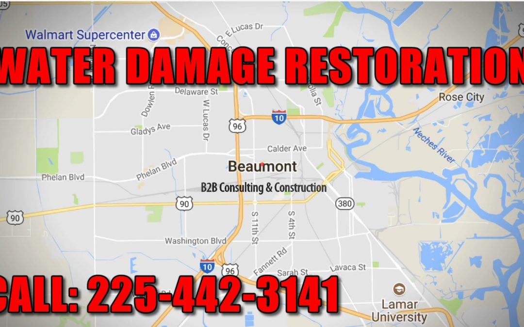 Water Damage Restoration Service Beaumont TX