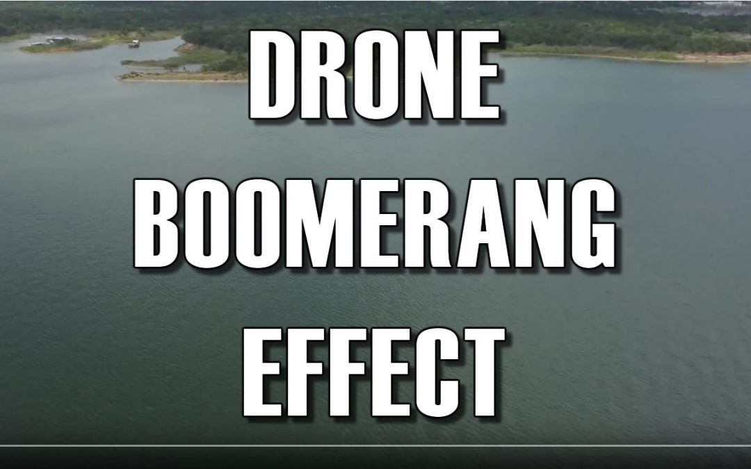Drone Boomerang Effect Inspired By Peter McKinnon